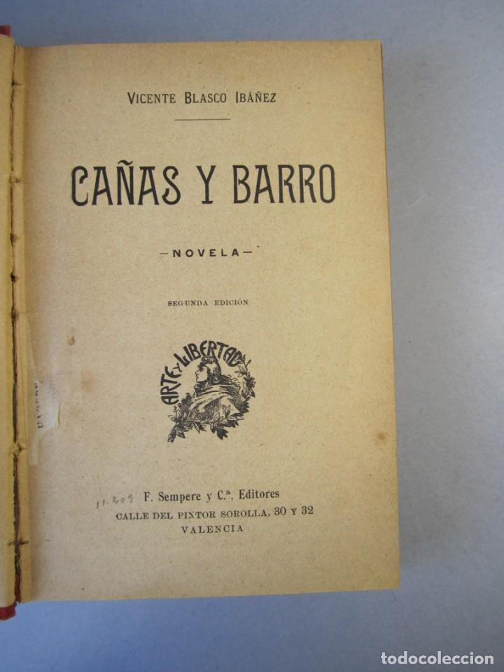 Libros antiguos: CAÑAS Y BARRO.Novela. Vte .Blasco Ibañez (F.Sempere, 1902 ) 2ª Edición . ¡¡¡DIFICIL !!!! - Foto 5 - 152492510