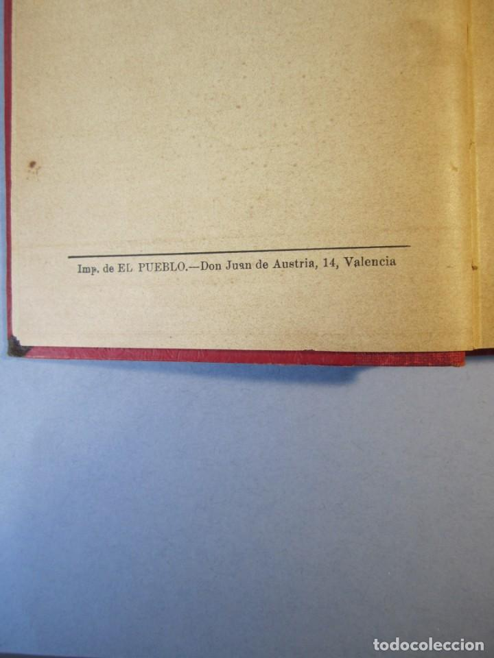 Libros antiguos: CAÑAS Y BARRO.Novela. Vte .Blasco Ibañez (F.Sempere, 1902 ) 2ª Edición . ¡¡¡DIFICIL !!!! - Foto 6 - 152492510