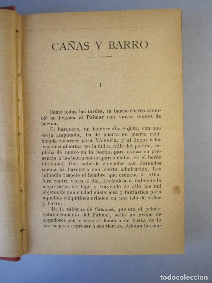 Libros antiguos: CAÑAS Y BARRO.Novela. Vte .Blasco Ibañez (F.Sempere, 1902 ) 2ª Edición . ¡¡¡DIFICIL !!!! - Foto 7 - 152492510
