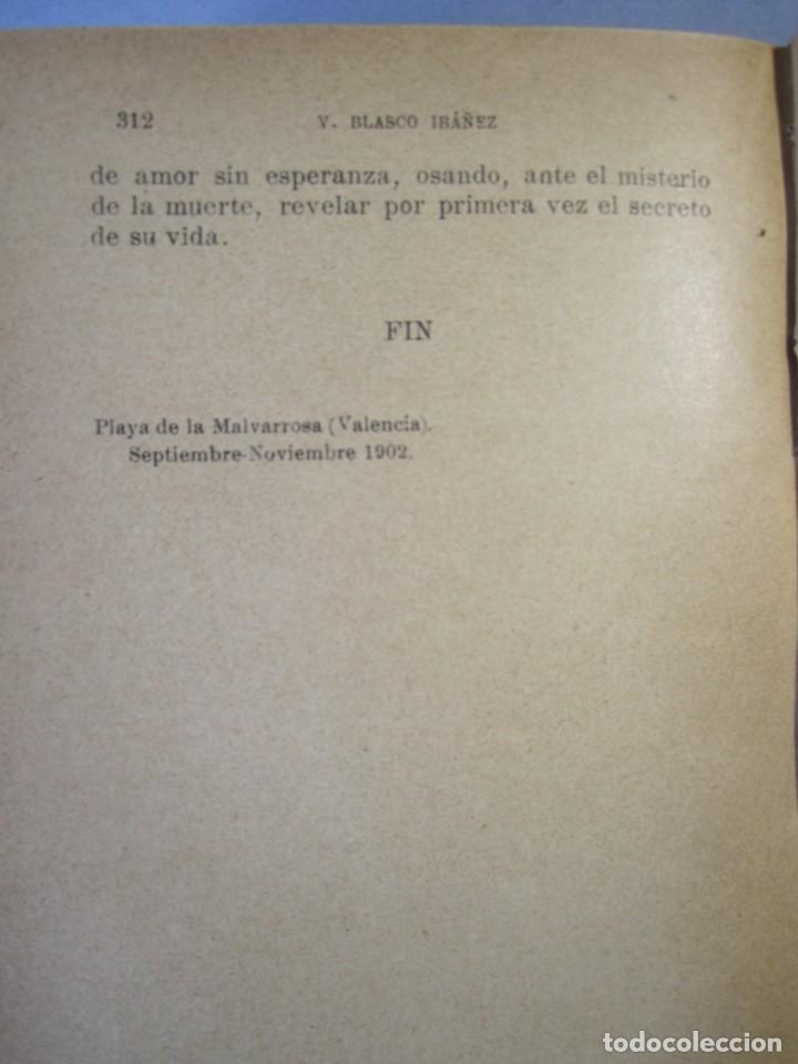 Libros antiguos: CAÑAS Y BARRO.Novela. Vte .Blasco Ibañez (F.Sempere, 1902 ) 2ª Edición . ¡¡¡DIFICIL !!!! - Foto 8 - 152492510