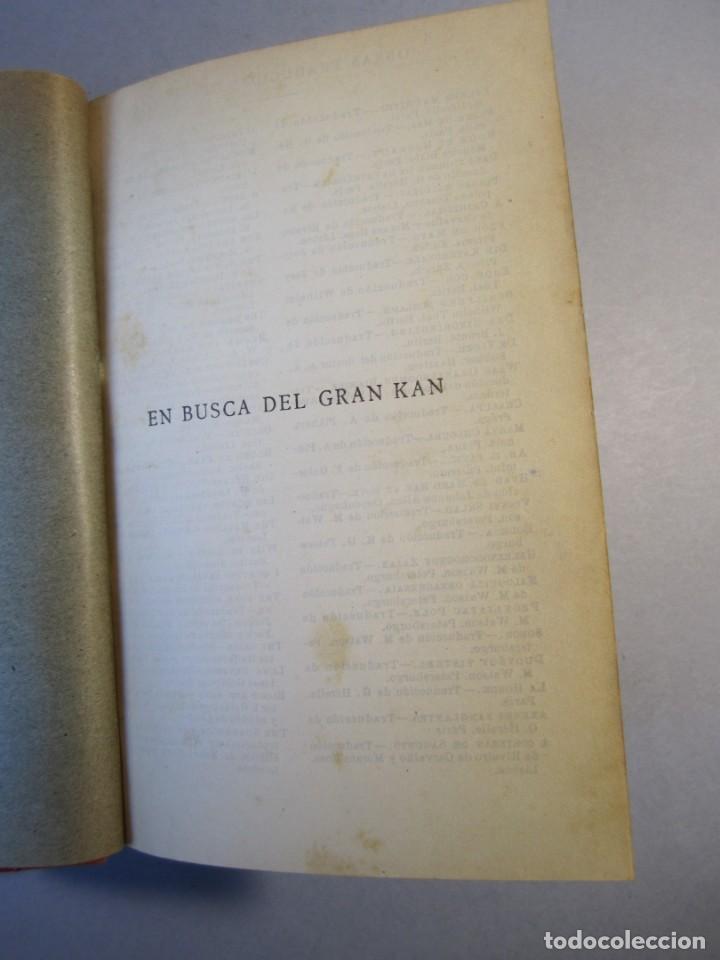 Libros antiguos: EN BUSCA DEL GRAN KAN .Novela.Vte.Blasco Ibañez.( PROMETEO,1929 ) 1 Edición - Foto 5 - 152493262