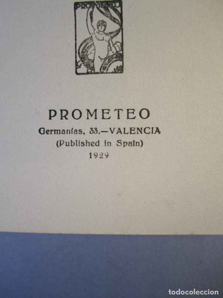 Libros antiguos: EN BUSCA DEL GRAN KAN .Novela.Vte.Blasco Ibañez.( PROMETEO,1929 ) 1 Edición - Foto 7 - 152493262