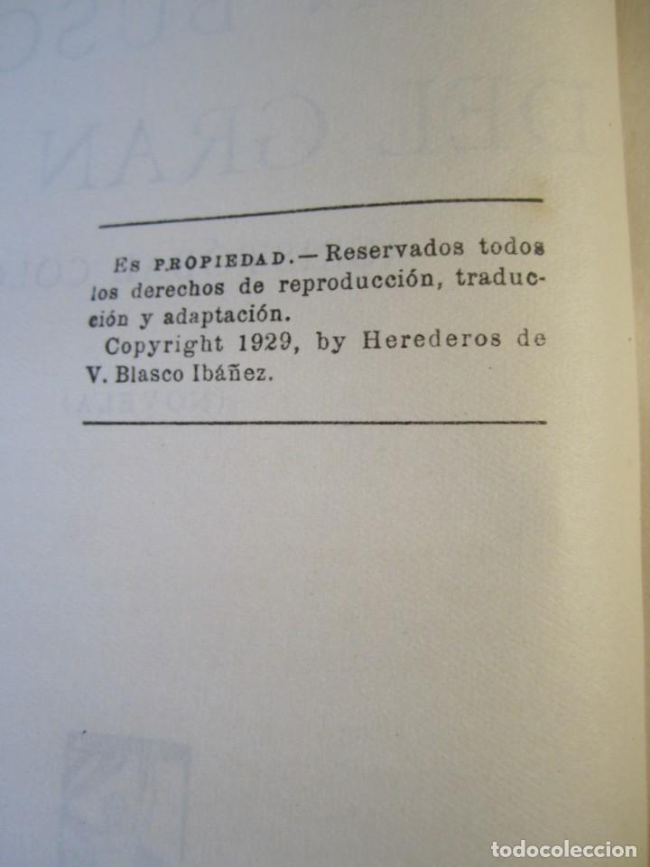 Libros antiguos: EN BUSCA DEL GRAN KAN .Novela.Vte.Blasco Ibañez.( PROMETEO,1929 ) 1 Edición - Foto 8 - 152493262