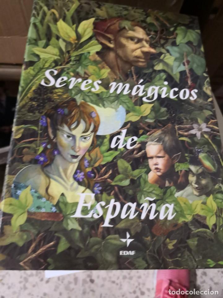 COLECCIÓN SERES MÁGICOS DE ESPAÑA 3 TOMOS HADAS DUENDES Y GNOMOS. EDAF (Libros antiguos (hasta 1936), raros y curiosos - Literatura - Narrativa - Ciencia Ficción y Fantasía)
