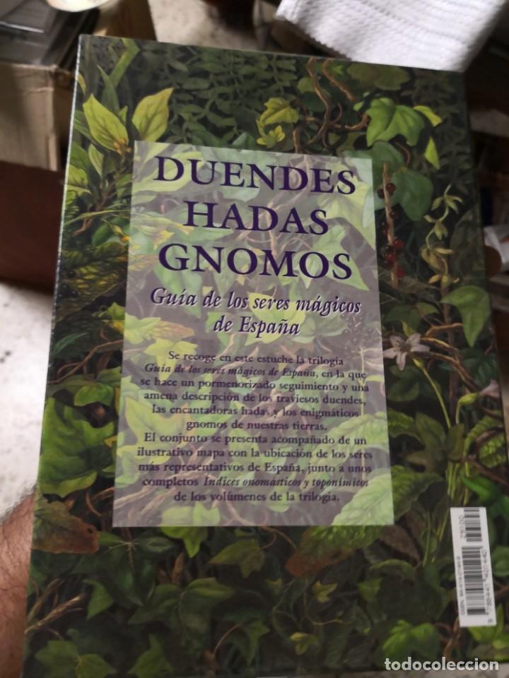 Libros antiguos: COLECCIÓN SERES MÁGICOS DE ESPAÑA 3 TOMOS HADAS DUENDES Y Gnomos. Edaf - Foto 2 - 153269182