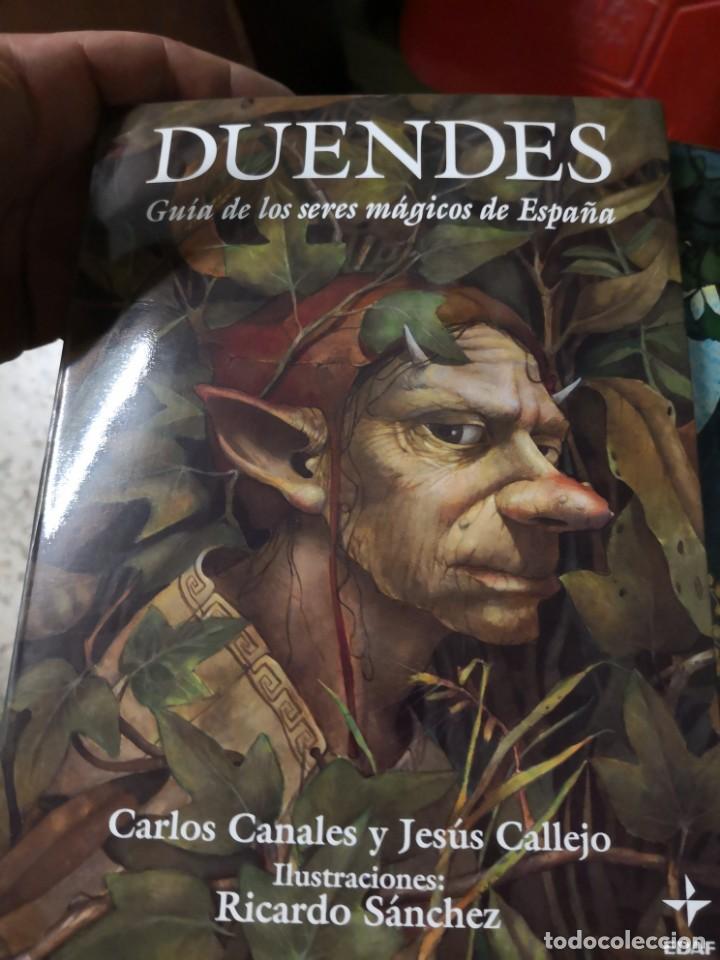 Libros antiguos: COLECCIÓN SERES MÁGICOS DE ESPAÑA 3 TOMOS HADAS DUENDES Y Gnomos. Edaf - Foto 6 - 153269182