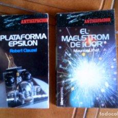 Libros antiguos: LOTE DE LIBROS DE FICCION ,TITULOS EL MAESTRO DE KJOR , PLATAFORMA EPSILON AÑO 1978 ,188 PAGINAS. Lote 153672610
