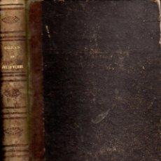 Libros antiguos: JULIO VERNE :SIETE OBRAS COMPLETAS - GASPAR Y ROIG, 1868. Lote 155835646