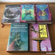 Libros antiguos: PACK MICHAEL MOORCOCK (MULTIVERSO). Lote 155936474