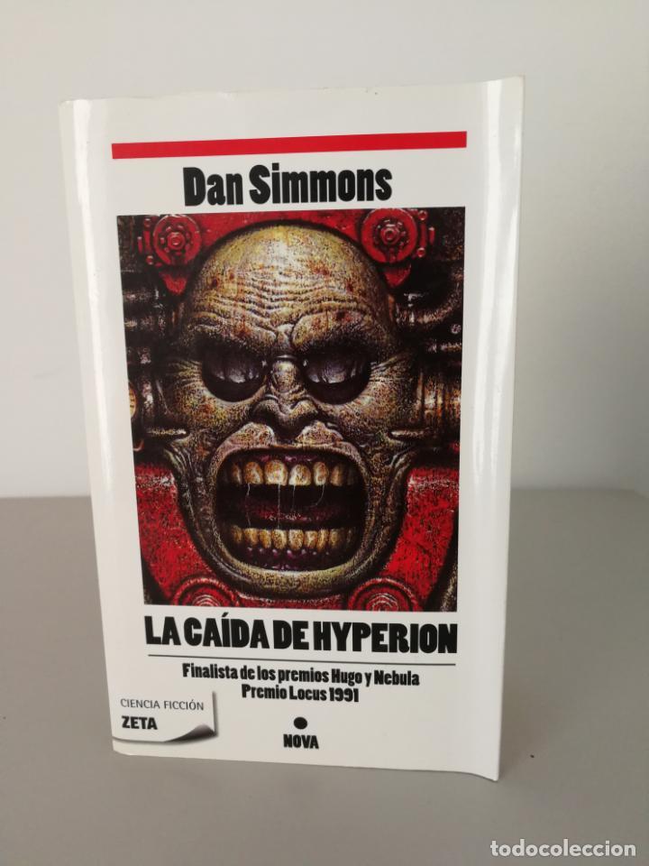 LIBRO LA CAÍDA DE HYPERION DAN SIMMONS (Libros antiguos (hasta 1936), raros y curiosos - Literatura - Narrativa - Ciencia Ficción y Fantasía)