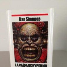 Libros antiguos: LIBRO LA CAÍDA DE HYPERION DAN SIMMONS. Lote 156243386