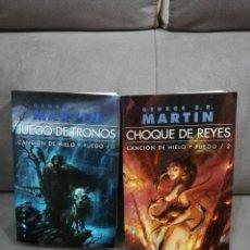 Libros antiguos: JUEGO DE TRONOS GEORGE MARTIN. Lote 156550145