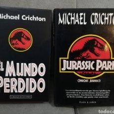 Libros antiguos: PARQUE JURASICO MICHAEL CRICHTON. Lote 156550982