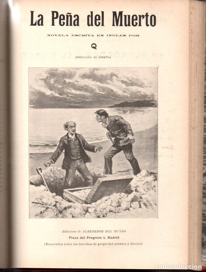 Libros antiguos: MAX PEMBERTON / GUY BOOTHBY / JEAN DARCY : DIEZ NOVELAS FANTÁSTICAS, MISTERIO Y TERROR - Foto 2 - 156591334