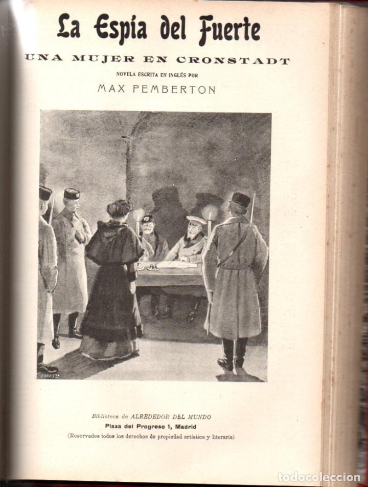 Libros antiguos: MAX PEMBERTON / GUY BOOTHBY / JEAN DARCY : DIEZ NOVELAS FANTÁSTICAS, MISTERIO Y TERROR - Foto 3 - 156591334