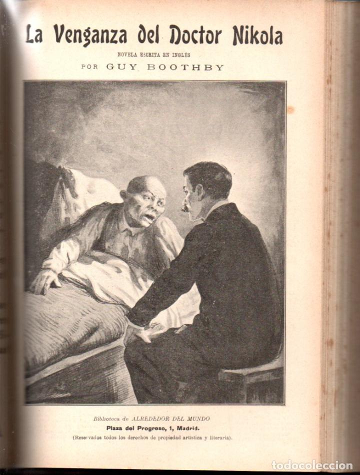 Libros antiguos: MAX PEMBERTON / GUY BOOTHBY / JEAN DARCY : DIEZ NOVELAS FANTÁSTICAS, MISTERIO Y TERROR - Foto 4 - 156591334