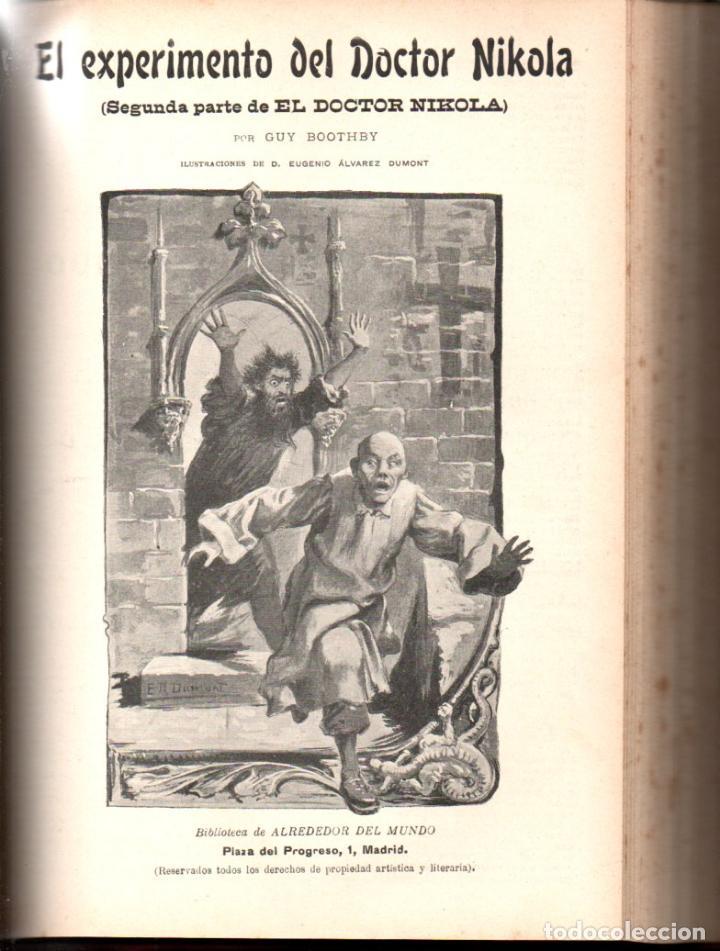 Libros antiguos: MAX PEMBERTON / GUY BOOTHBY / JEAN DARCY : DIEZ NOVELAS FANTÁSTICAS, MISTERIO Y TERROR - Foto 5 - 156591334