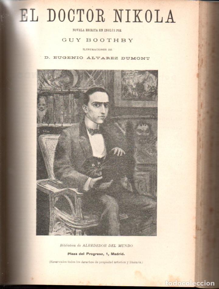 Libros antiguos: MAX PEMBERTON / GUY BOOTHBY / JEAN DARCY : DIEZ NOVELAS FANTÁSTICAS, MISTERIO Y TERROR - Foto 6 - 156591334