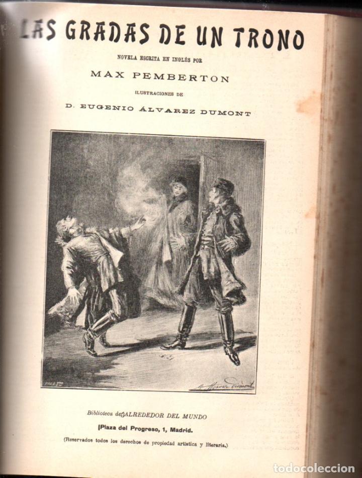 Libros antiguos: MAX PEMBERTON / GUY BOOTHBY / JEAN DARCY : DIEZ NOVELAS FANTÁSTICAS, MISTERIO Y TERROR - Foto 7 - 156591334