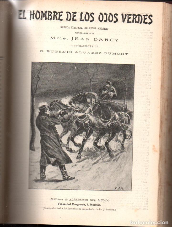 Libros antiguos: MAX PEMBERTON / GUY BOOTHBY / JEAN DARCY : DIEZ NOVELAS FANTÁSTICAS, MISTERIO Y TERROR - Foto 8 - 156591334