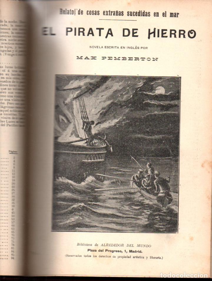 Libros antiguos: MAX PEMBERTON / GUY BOOTHBY / JEAN DARCY : DIEZ NOVELAS FANTÁSTICAS, MISTERIO Y TERROR - Foto 9 - 156591334