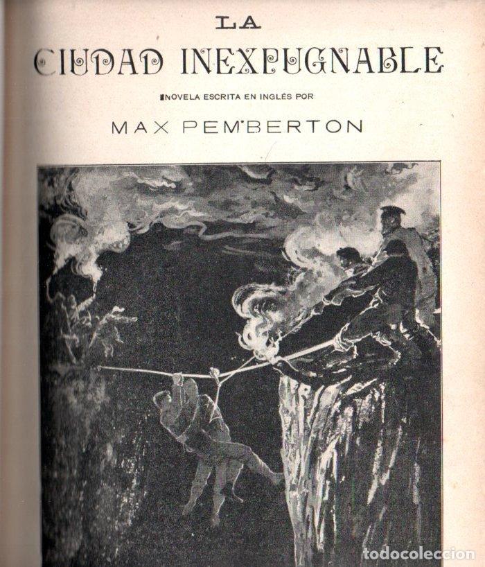 Libros antiguos: MAX PEMBERTON / GUY BOOTHBY / JEAN DARCY : DIEZ NOVELAS FANTÁSTICAS, MISTERIO Y TERROR - Foto 10 - 156591334