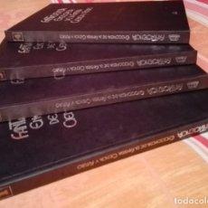 Libros antiguos: FANTACIENCIA ENCICLOPEDIA DE LA FANTASÍA CIENCIA Y FUTURO - 4 TOMOS. Lote 157609186