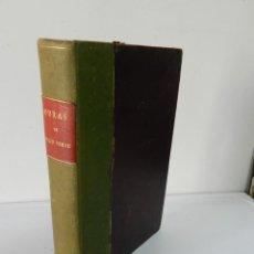 Libros antiguos: OBRAS COMPLETAS JULIO VERNE. CON GRABADOS (JULIO VERNE) SÁENZ DE JUBERA HERMANOS, 1900. Lote 157720130