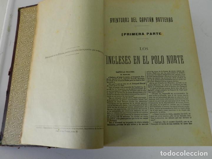 Libros antiguos: OBRAS COMPLETAS JULIO VERNE. CON GRABADOS (JULIO VERNE) SÁENZ DE JUBERA HERMANOS, 1900 - Foto 4 - 157720130