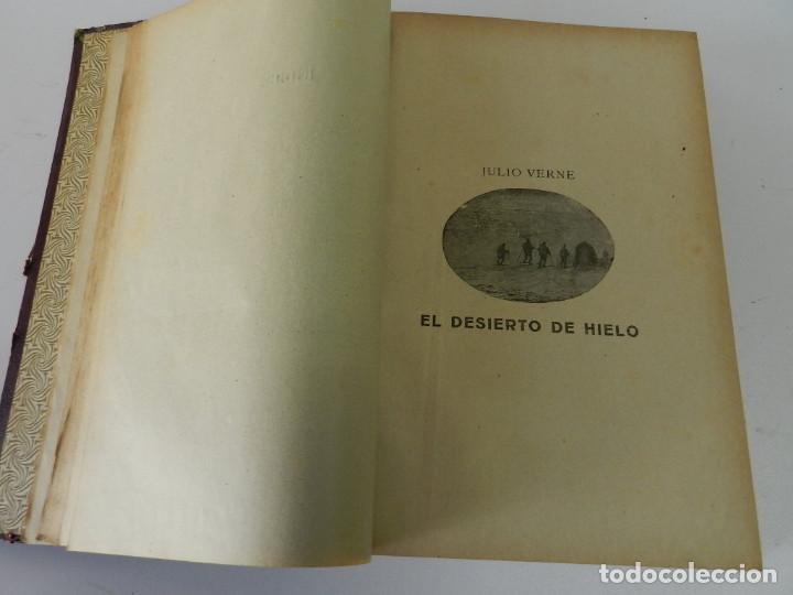 Libros antiguos: OBRAS COMPLETAS JULIO VERNE. CON GRABADOS (JULIO VERNE) SÁENZ DE JUBERA HERMANOS, 1900 - Foto 6 - 157720130