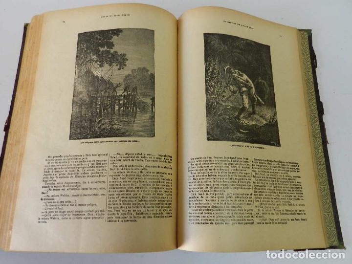 Libros antiguos: OBRAS COMPLETAS JULIO VERNE. CON GRABADOS (JULIO VERNE) SÁENZ DE JUBERA HERMANOS, 1900 - Foto 11 - 157720130