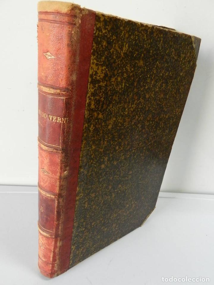 OBRAS COMPLETAS JULIO VERNE N 5. CON GRABADOS (JULIO VERNE), GASPAR EDITORES, 1880 (Libros antiguos (hasta 1936), raros y curiosos - Literatura - Narrativa - Ciencia Ficción y Fantasía)