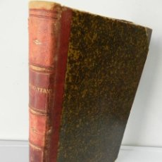 Libros antiguos: OBRAS COMPLETAS JULIO VERNE N 5. CON GRABADOS (JULIO VERNE), GASPAR EDITORES, 1880. Lote 213546045