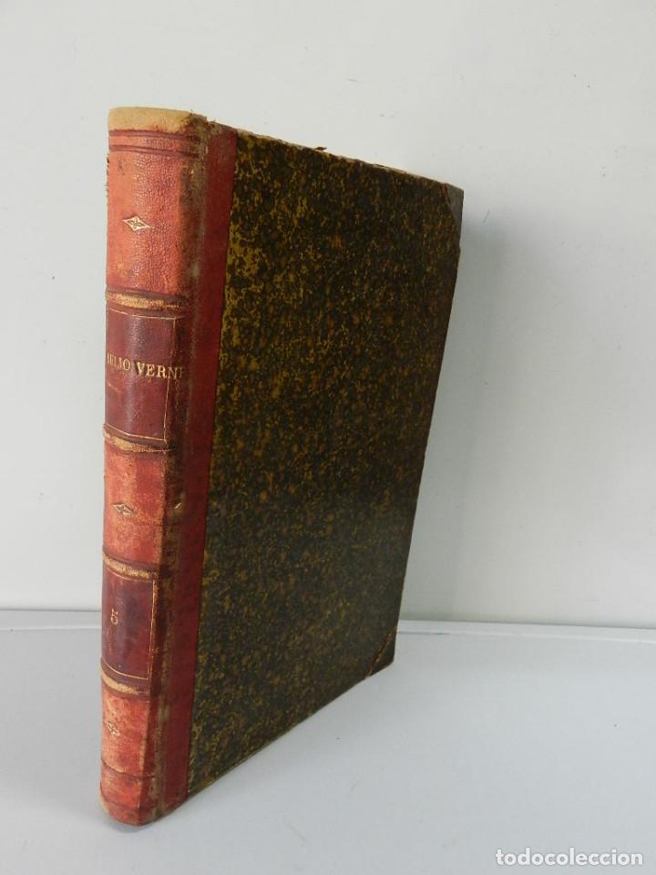 Libros antiguos: OBRAS COMPLETAS JULIO VERNE N 5. CON GRABADOS (JULIO VERNE), GASPAR EDITORES, 1880 - Foto 2 - 213546045