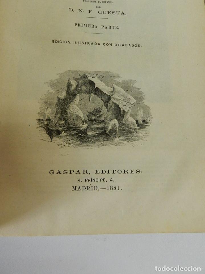 Libros antiguos: OBRAS COMPLETAS JULIO VERNE N 5. CON GRABADOS (JULIO VERNE), GASPAR EDITORES, 1880 - Foto 5 - 213546045
