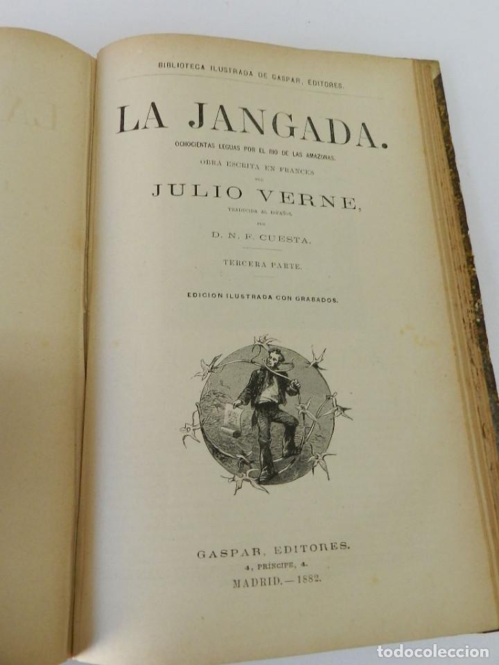 Libros antiguos: OBRAS COMPLETAS JULIO VERNE N 5. CON GRABADOS (JULIO VERNE), GASPAR EDITORES, 1880 - Foto 6 - 213546045
