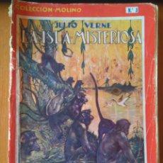 Libros antiguos: LA ISLA MISTERIOSA DE JULIO VERNE COLECCIÓN MOLINO N. 3- PRIMERA EDICIÓN 1934. Lote 164600826