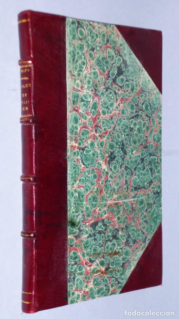 VIAJES DE GULLIVER A LILIPUT Y BROBDINGNAC (Libros antiguos (hasta 1936), raros y curiosos - Literatura - Narrativa - Ciencia Ficción y Fantasía)