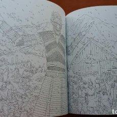 Libros antiguos: RARO LIBRO PARA COLOREAR JUEGO DE TRONOS. EDICIÓN JAPONESA. VER FOTOS ABAJO. ORIGINAL JAPÓN.. Lote 165534202