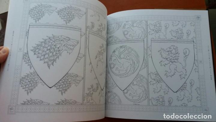 Libros antiguos: RARO LIBRO PARA COLOREAR JUEGO DE TRONOS. EDICIÓN JAPONESA. VER FOTOS ABAJO. ORIGINAL JAPÓN. - Foto 4 - 165534202