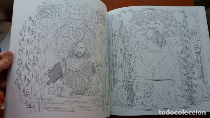 Libros antiguos: RARO LIBRO PARA COLOREAR JUEGO DE TRONOS. EDICIÓN JAPONESA. VER FOTOS ABAJO. ORIGINAL JAPÓN. - Foto 5 - 165534202