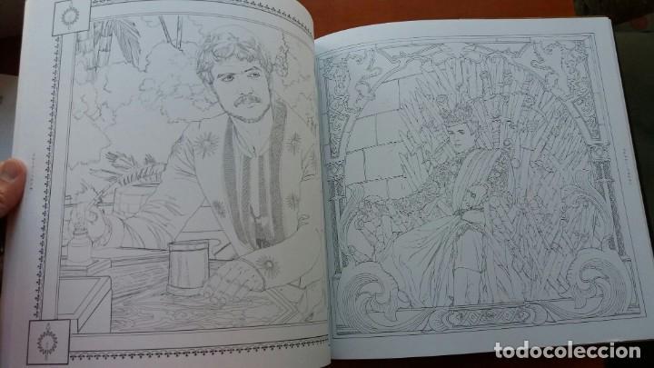 Libros antiguos: RARO LIBRO PARA COLOREAR JUEGO DE TRONOS. EDICIÓN JAPONESA. VER FOTOS ABAJO. ORIGINAL JAPÓN. - Foto 6 - 165534202