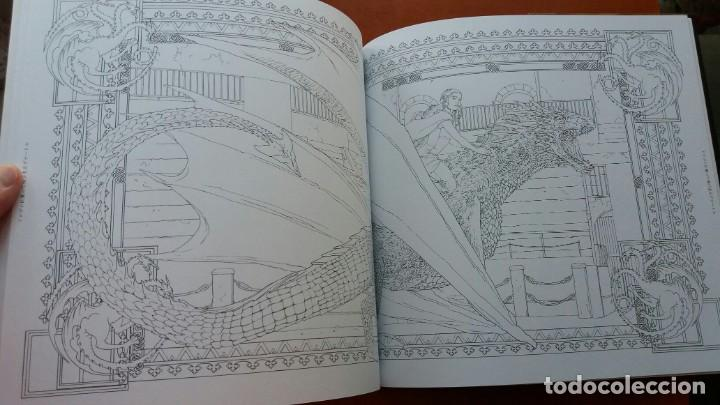 Libros antiguos: RARO LIBRO PARA COLOREAR JUEGO DE TRONOS. EDICIÓN JAPONESA. VER FOTOS ABAJO. ORIGINAL JAPÓN. - Foto 7 - 165534202