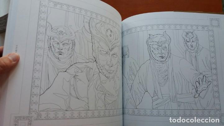 Libros antiguos: RARO LIBRO PARA COLOREAR JUEGO DE TRONOS. EDICIÓN JAPONESA. VER FOTOS ABAJO. ORIGINAL JAPÓN. - Foto 8 - 165534202