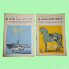 Libros antiguos: LIBROS ANTIGUOS DE FICCIÓN MUY INTERESANTE 10 UNIDADES. Lote 168055568