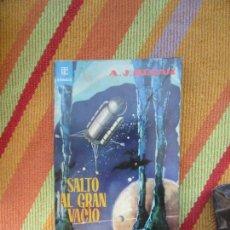 Libros antiguos: LIBRO SALTO AL GRAN VACÍO A.J. MERAK 1962 TORAY L-8760-626. Lote 168088880