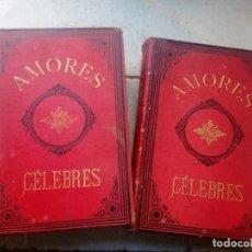 Livros antigos: AMORES CELEBRES DE 1879. Lote 168580144
