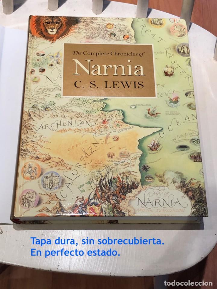 Libros antiguos: LIBRO LAS CRÓNICAS DE NARNIA COMPLETAS VERSIÓN EN INGLÉS - C S LEWIS PAULINE BAYNES - Foto 2 - 168733360