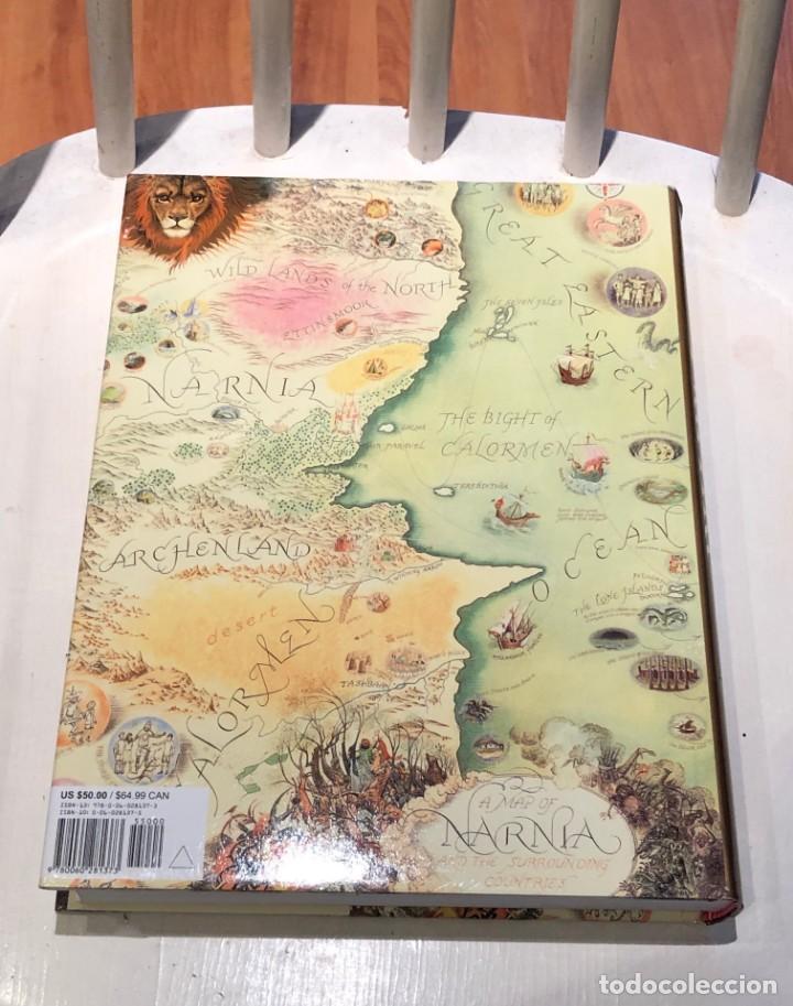 Libros antiguos: LIBRO LAS CRÓNICAS DE NARNIA COMPLETAS VERSIÓN EN INGLÉS - C S LEWIS PAULINE BAYNES - Foto 4 - 168733360
