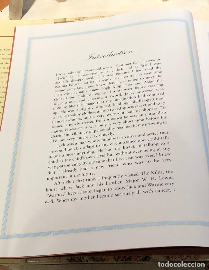 Libros antiguos: LIBRO LAS CRÓNICAS DE NARNIA COMPLETAS VERSIÓN EN INGLÉS - C S LEWIS PAULINE BAYNES - Foto 7 - 168733360